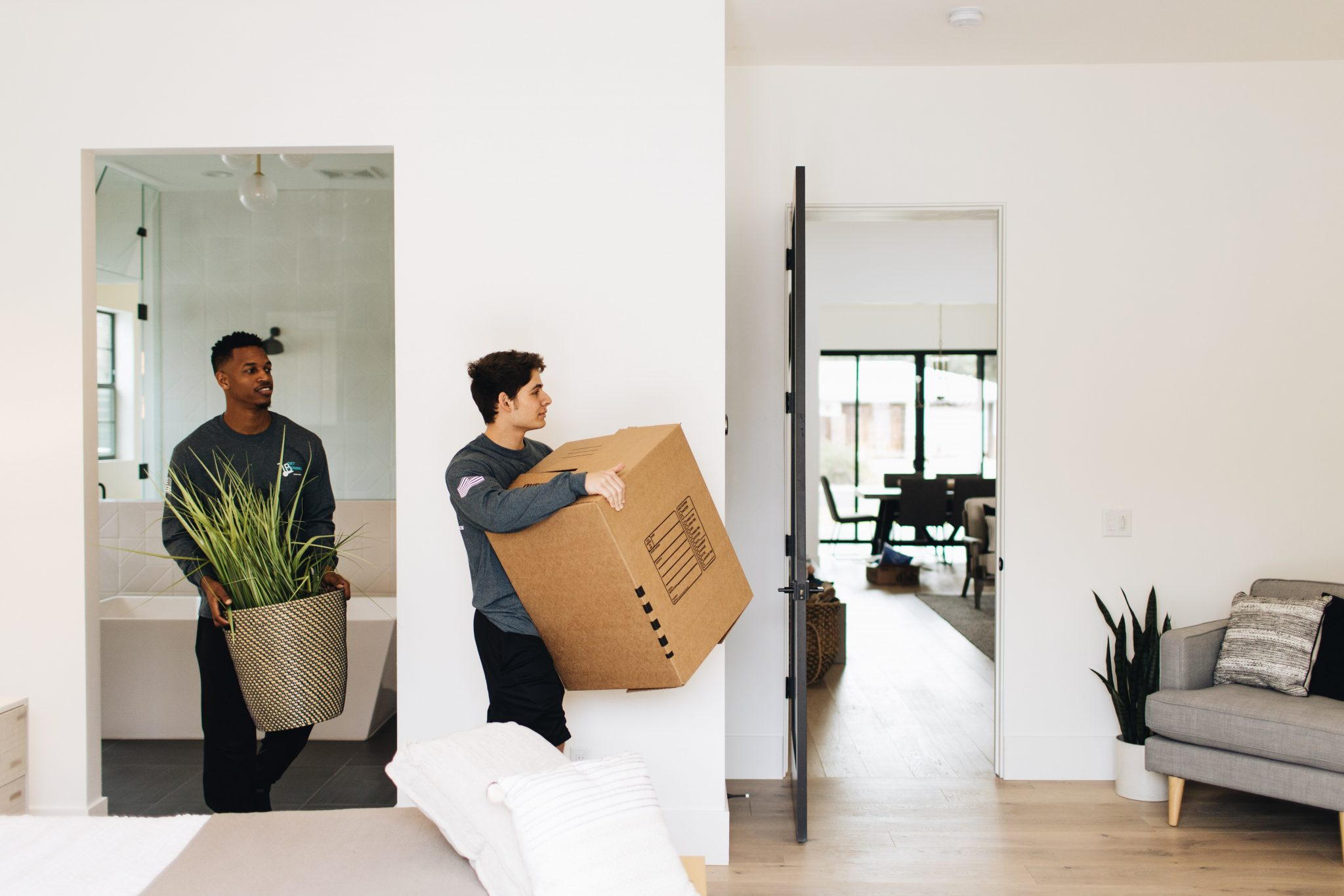 Image: Get Moving crew on a residential move