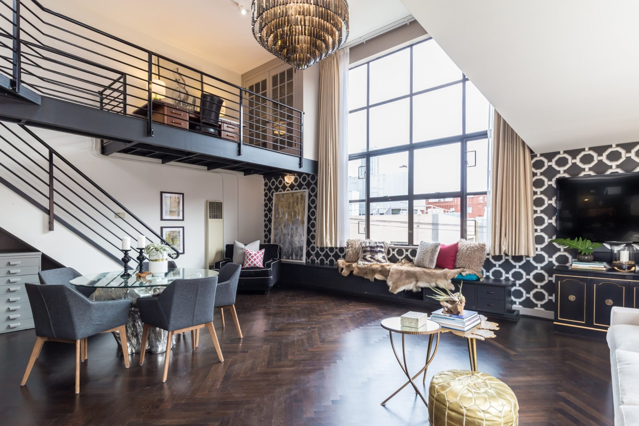 Image of modern loft for apartment moving